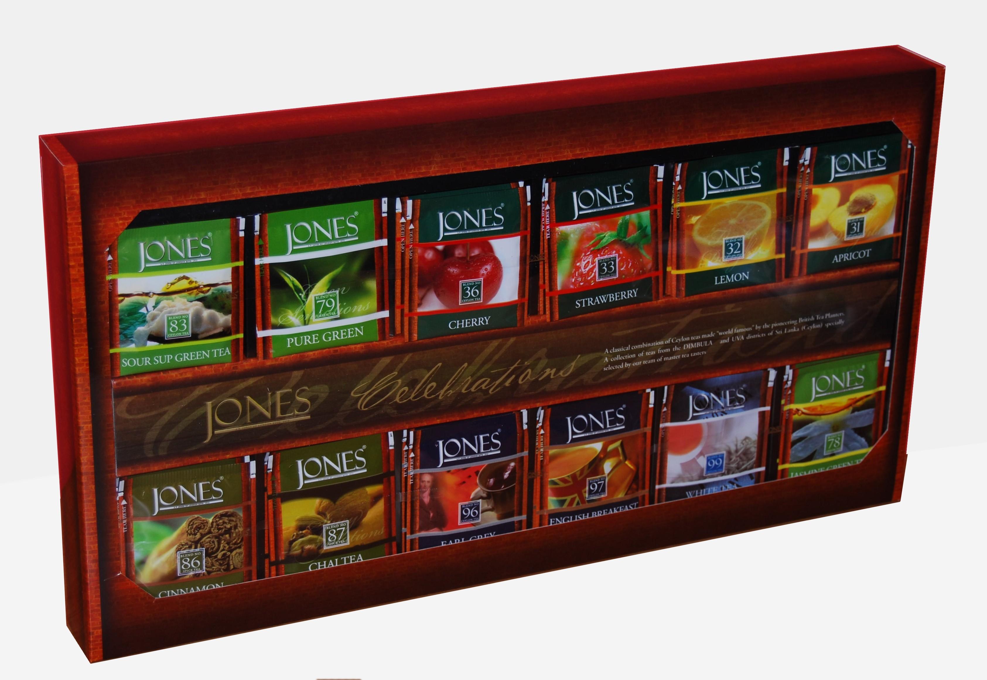 Dárkové balení čajů Jones - maxi