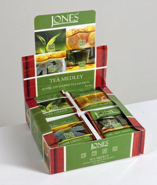 JONES Dárkové balení - zelený čaj