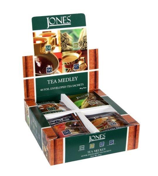 JONES Dárkové balení - černý čaj