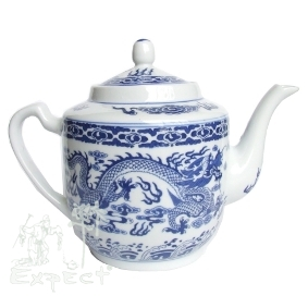Porcelánová čajová konvice Dragon 1L VYPRODÁNO