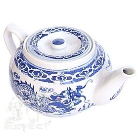 Porcelánová čajová konvice Dragon 0,6l