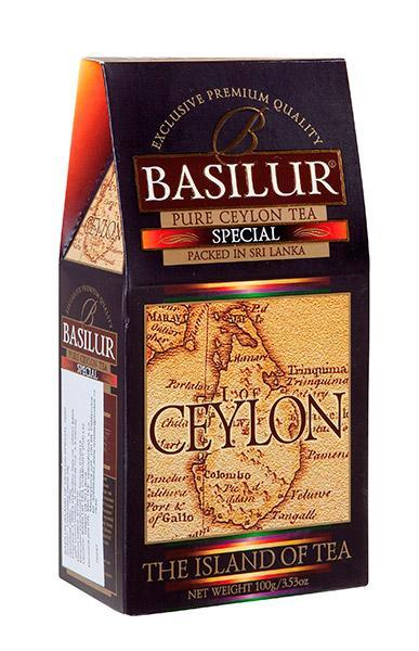 Cejlonský černý čaj BASILUR