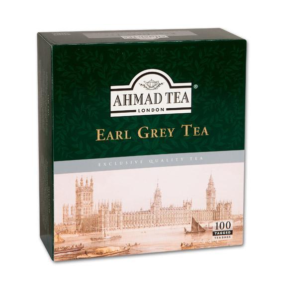 Černý čaj Earl Grey 100ks AHMAD TEA
