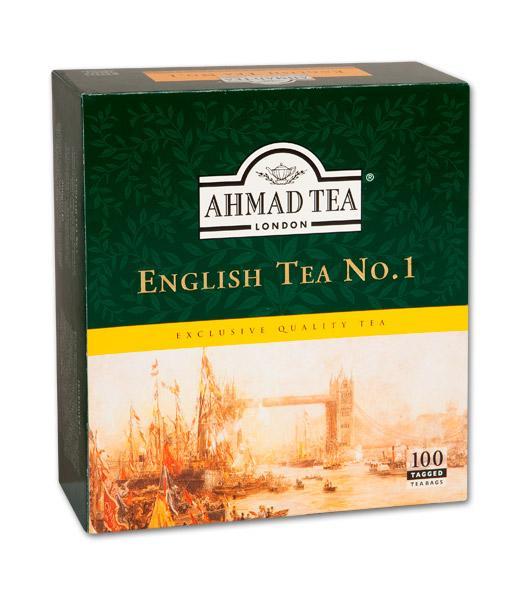 Černý čaj English No1 - 100ks od AHMAD TEA vyprodáno
