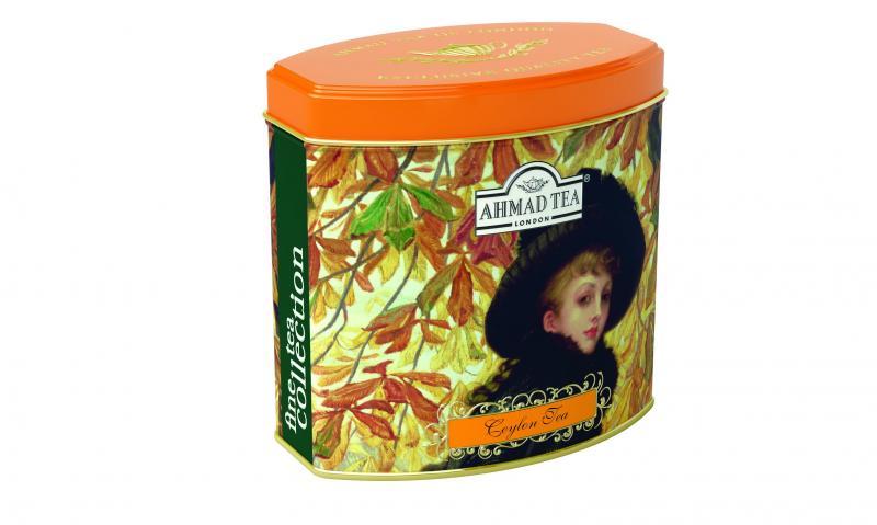 Dárkový sypaný černý čaj Ceylon AHMAD TEA