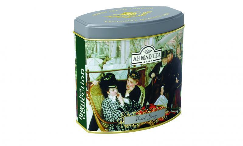 Dárkový černý čaj Earl Grey od AHMAD TEA