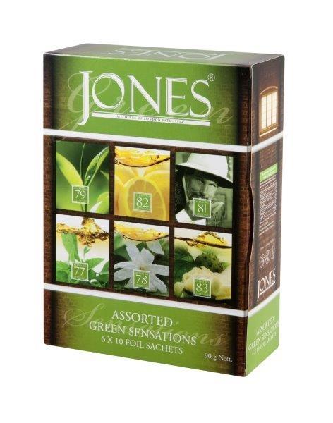 Dárková kolekce zelených čajů Jones
