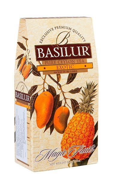 Ovocný sypaný čaj - mango a ananas BASILUR
