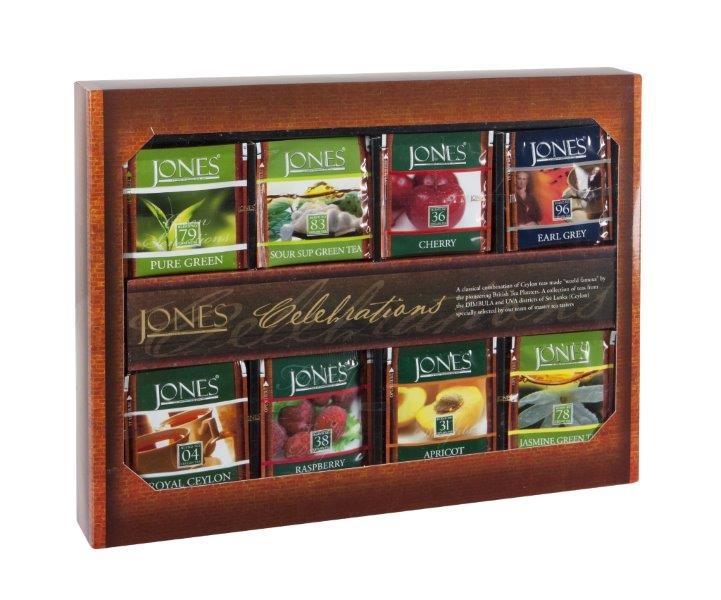 Dárková kolekce čajů Jones
