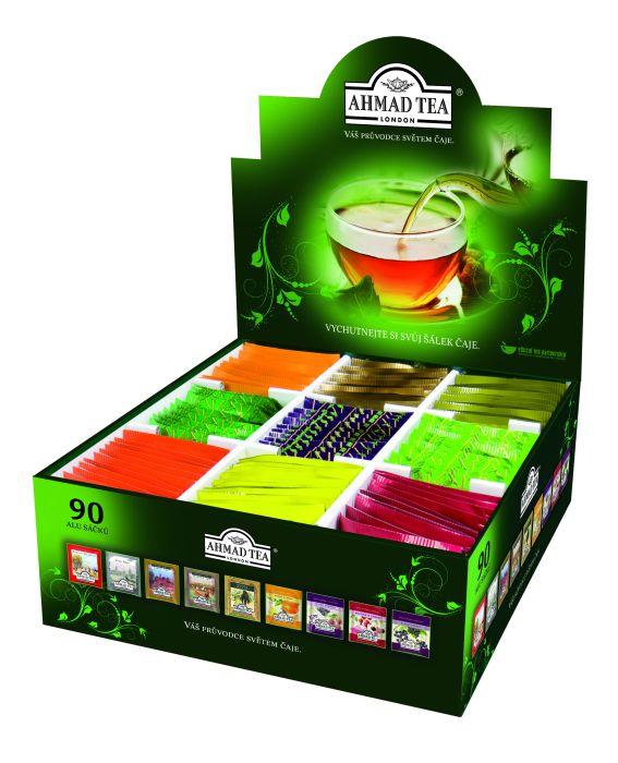 Dárkové balení čajů Ahmad tea