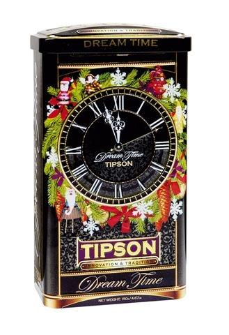 Černý dárkový čaj Tipson