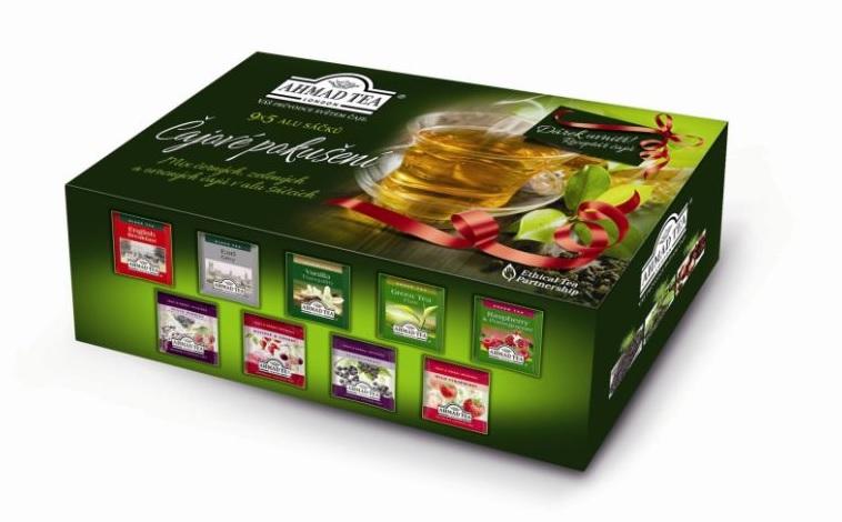 Čajové pokušení - dárková kazeta AHMAD TEA