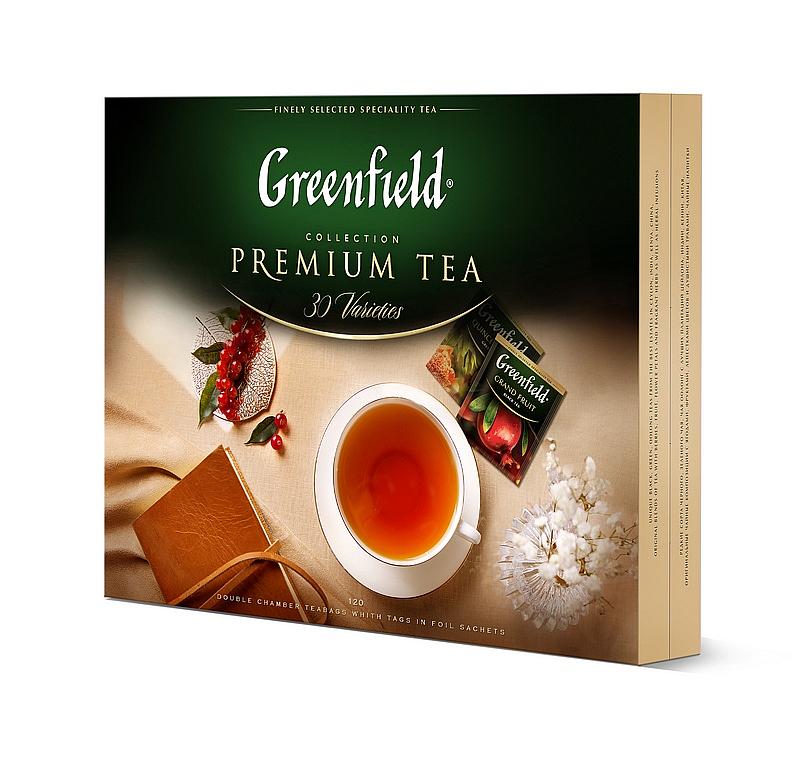 dárková kazeta čajů Greenfield