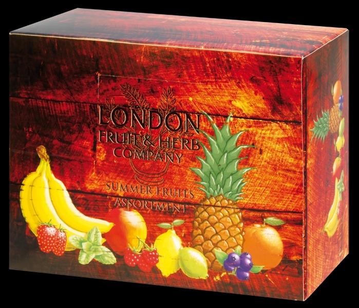 Ovocné dárkové balení čajů LONDON