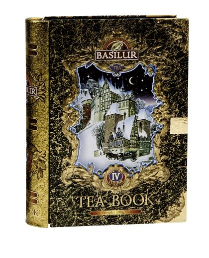 Čajová kniha BASILUR, černý čaj 100g