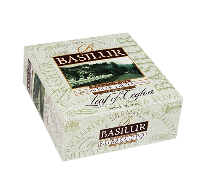 Černý čaj Nuwara BASILUR, 100 ks