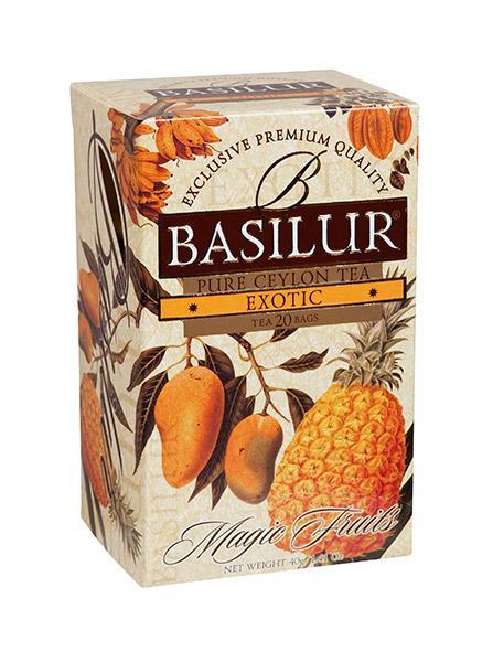 Ovocný čaj Exotické ovoce, BASILUR 20 ks