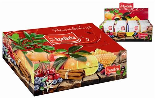 Kolekce 96 ovocných čajů Apotheke konec výroby