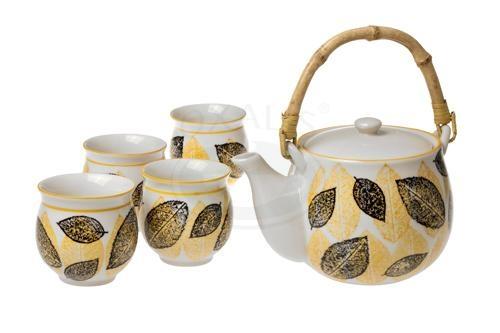 Keramická čajová souprava Podzim