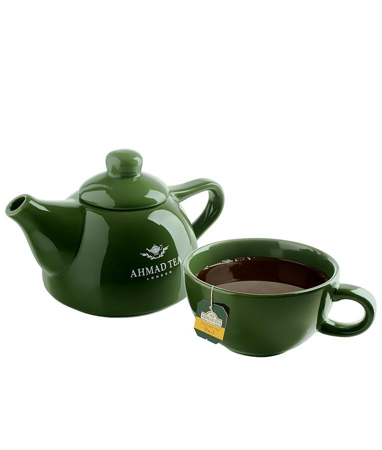 Čajový set konvička+hrnek od Ahmad Tea