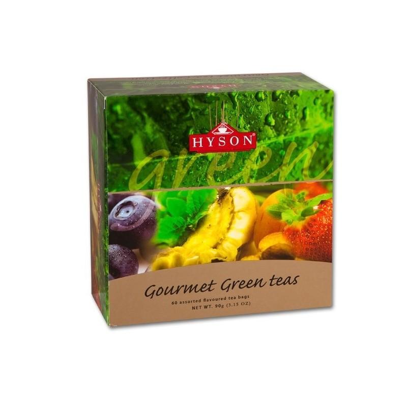 Dárková kolekce ochucených zelených čajů Hyson
