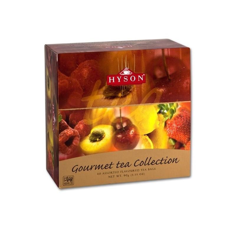 Dárková kolekce černých čajů s příchutí