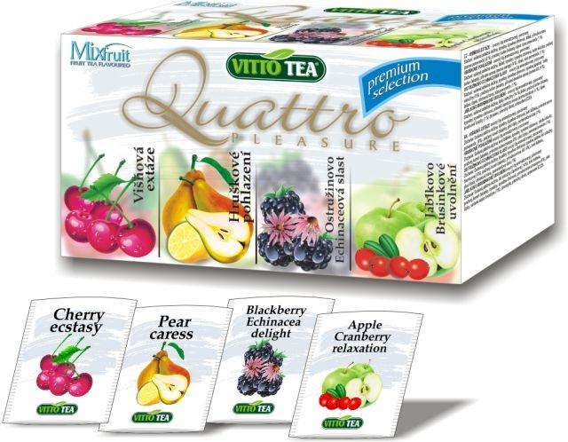 Variace ovocných čajů Vitto Premium