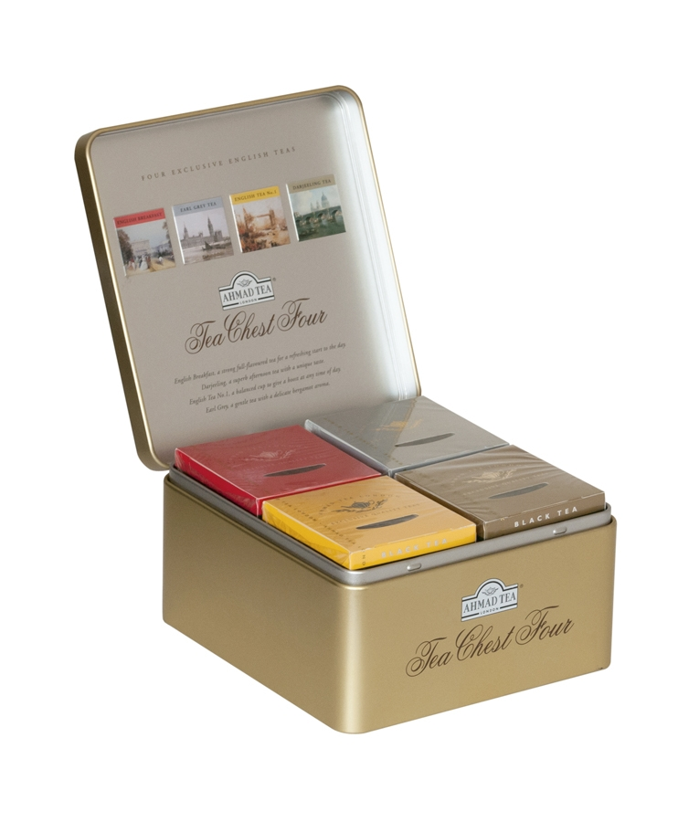 Dárkové balení 4 druhů čaje Chest Four vyprodáno
