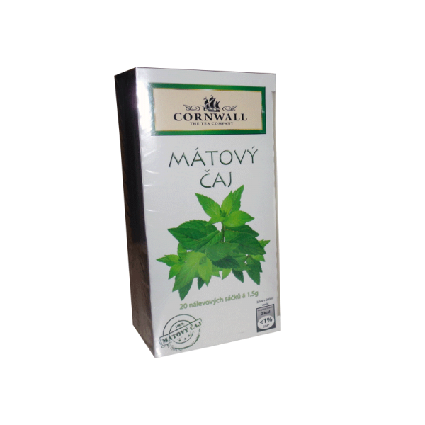 20 sáčků mátového čaje