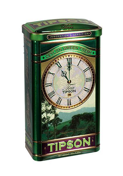 Zelený dárkový čaj Tipson