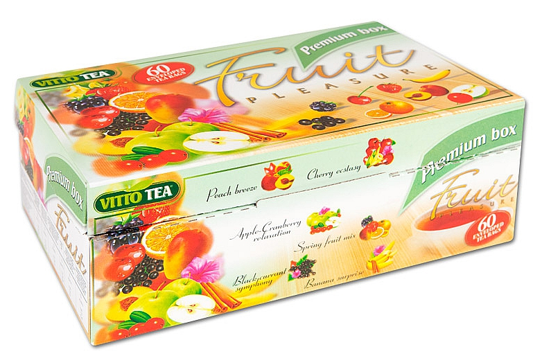 Dárkové balení ovocných čajů Vitto Premium