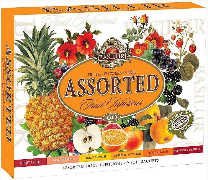 Dárková kazeta ovocných čajů Basilur