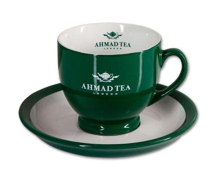 Hrnek s podšálkem Ahmad Tea