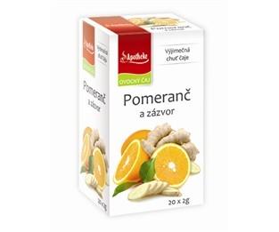 Zázvorový čaj s pomerančem Apotheke