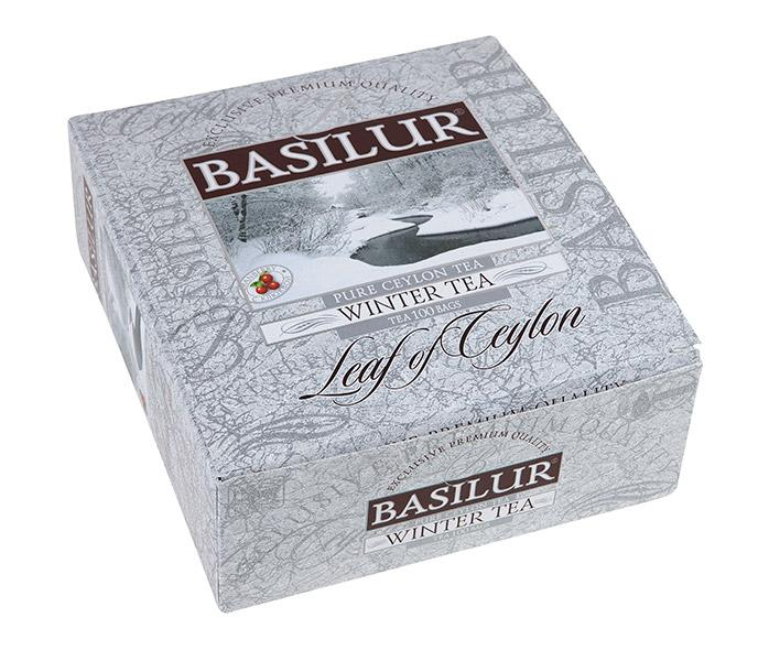 Zimní balení 100 ks černého čaje BASILUR