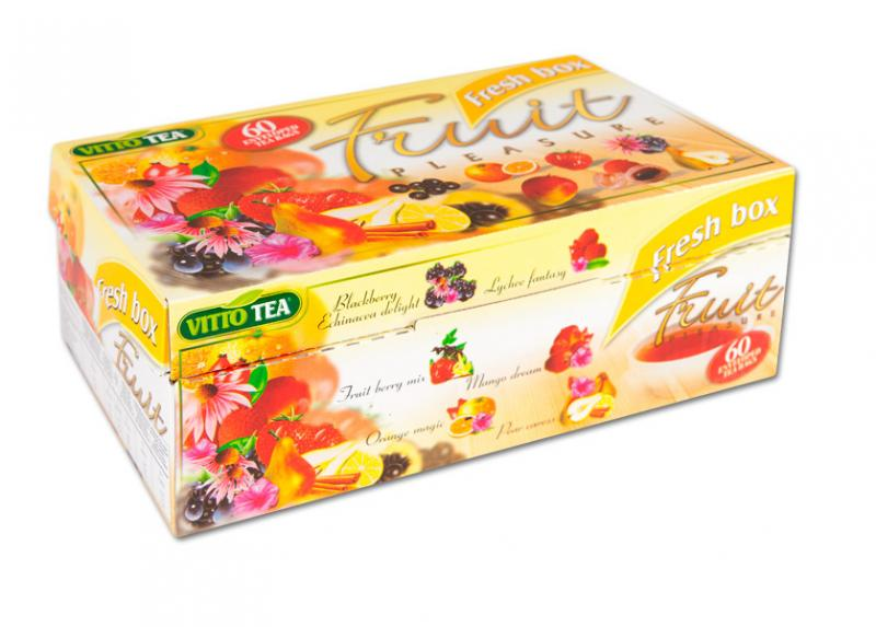 Dárkové balení 60 ks ovocných čajů VITTO