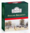 Černý čaj English Breakfast od AHMAD TEA, 100 ks